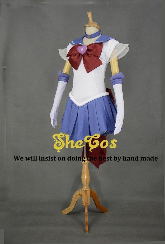Sailor Moon Sailor Tuxedo Mask Crystal Cosplay Costume Full Set FREE P/&P