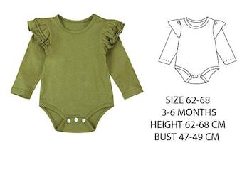 Girls' Sewing Patterns , girls romper pattern PDF, girls ruffle romper pattern pdf, sewing patterns, girls sewing patterns baby