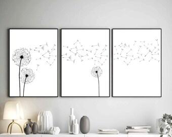 Minimalist wall decor   Etsy