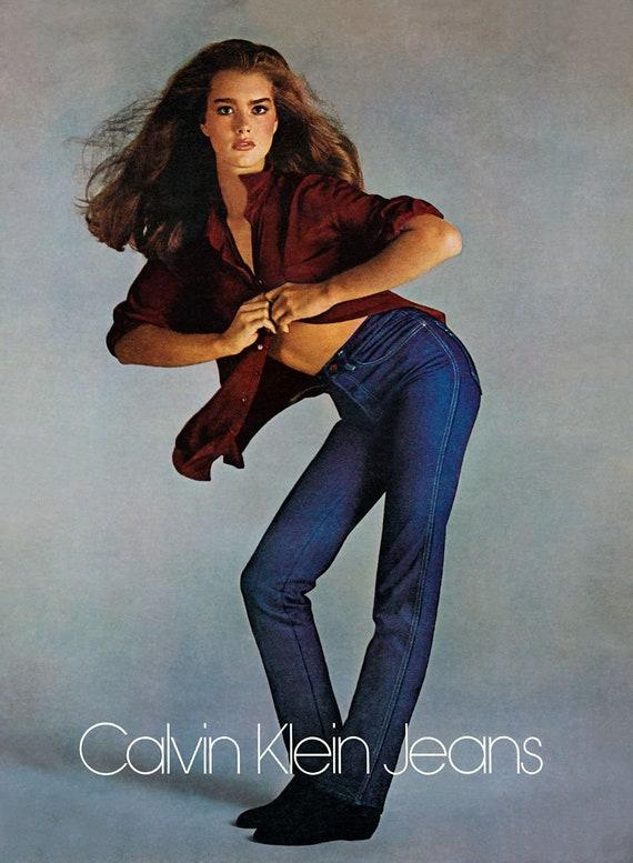 Vintage 80s Classic Original Calvin Klein Jeans s… - image 4