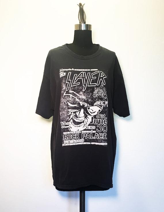 Vintage Slayer Concert T Shirt
