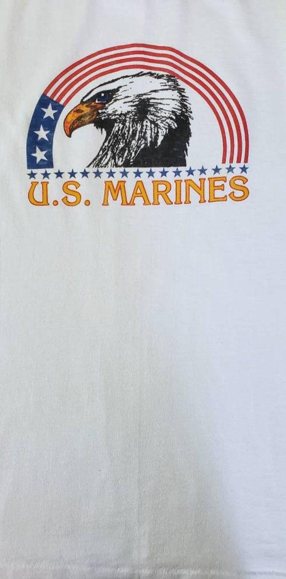Vintage USMC Ringer Tshirt - image 4