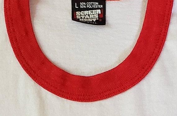 Vintage USMC Ringer Tshirt - image 5