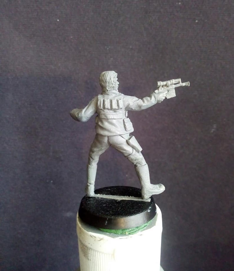 Star Wars Legion  Han Solo   Wargaming miniature  Alternative Gaming  Miniatures  AGM  By Alternative Gaming Miniatures