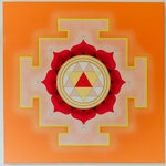 Durga Yantra on Canvas