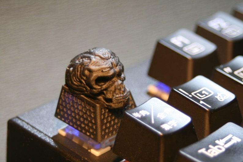 Skull Keycap black - Artisan Keycap,Cherry MX Mechanical Gaming Keyboards