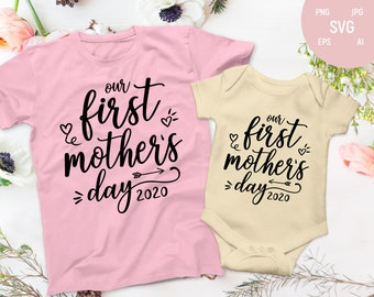 Free 1st Mothers Day Svg Etsy SVG, PNG, EPS DXF File