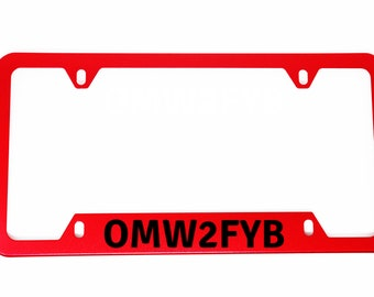 I Find Your Lack Of Faith Disturbing License Plate Frame Tag Holder
