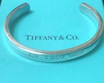 208e48b3c Tiffany & Co. Sterling Silver 1837 Cuff Bracelet