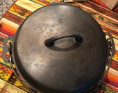 Griswold Iron Mountain 8 Dutch Oven with Lid