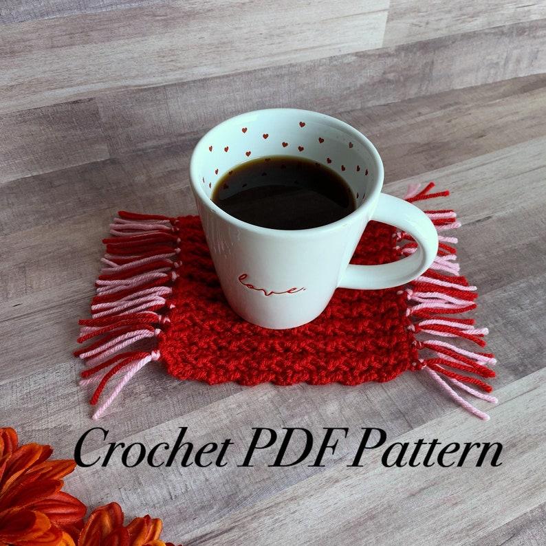 The Ripton Mug Rug Pattern Crochet PDF Pattern  Crochet Mug image 0