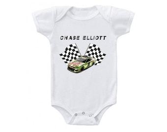 6906f781447 Chase Elliott Onesie Bodysuit 2019 Mountain Dew Car