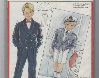 Vintage Sailor Boy Cloth Military Stuffed Doll /& Clothes Pattern