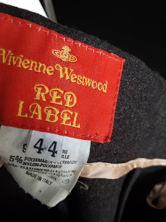 90s Vivienne Westwood Vintage Red Label Wool  Mil… - image 7