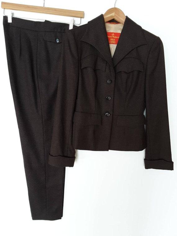 90s Vivienne Westwood Vintage Red Label Wool  Mil… - image 3
