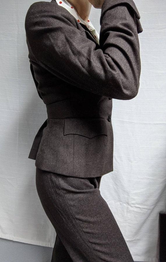 90s Vivienne Westwood Vintage Red Label Wool  Mil… - image 4