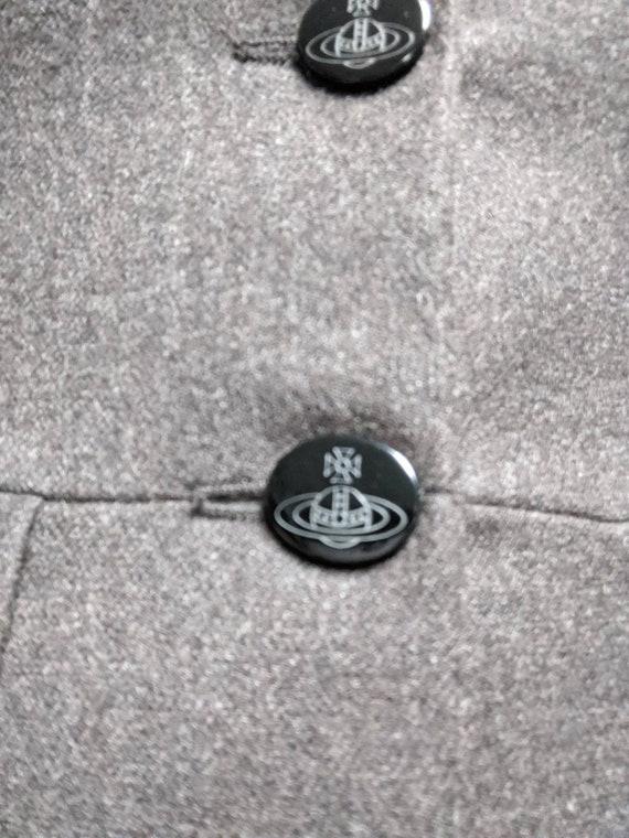 90s Vivienne Westwood Vintage Red Label Wool  Mil… - image 10