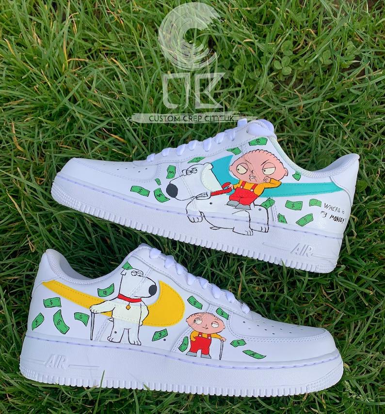 Custom Nike Air Force 1 Family Guy