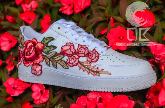 embroidered nike air force 1