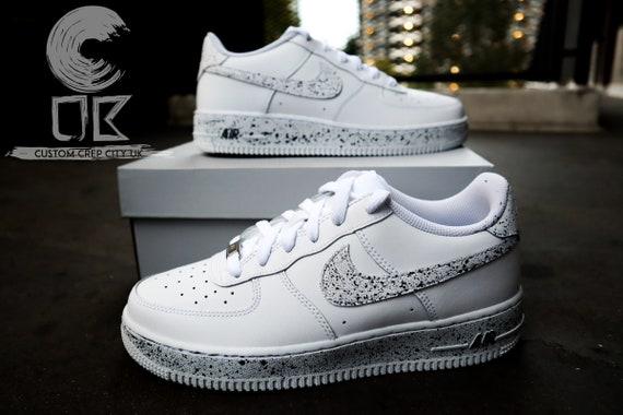 Custom Nike Air Force 1 Oreo Force