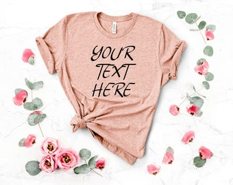 4d4ef23a4ffc Personalized T-Shirt, Add Your Own Text, Custom T-shirt, Customized T-Shirts,  Custom Shirt, Custom Text on Shirt, Custom Women, T-Shirt
