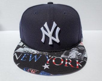 dcbd058e7149e MLB New York Yankees Custom Snapback  Liberty