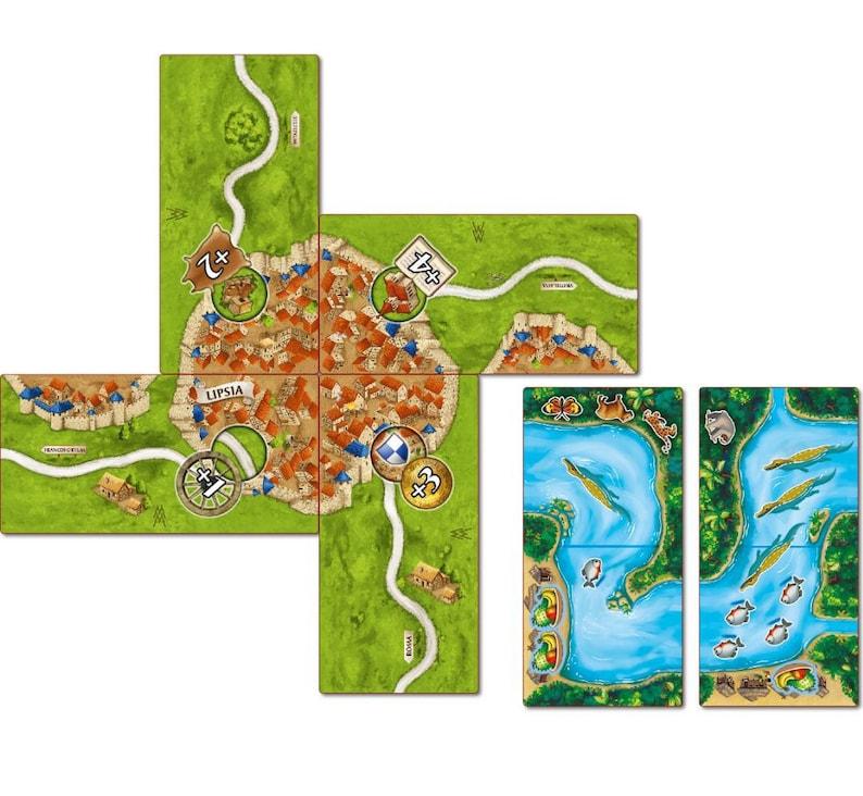 Die Watchtowers Carcassonne Mini Erweiterung Brandneu Mit Englisch Rules