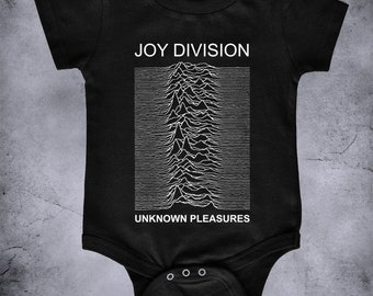 b804af0981abd JOY DIVISION - Unknown Pleasures - baby one piece tshirt bodysuit, gothic  baby, Joy Division kids infant, gothic post punk baby clothing