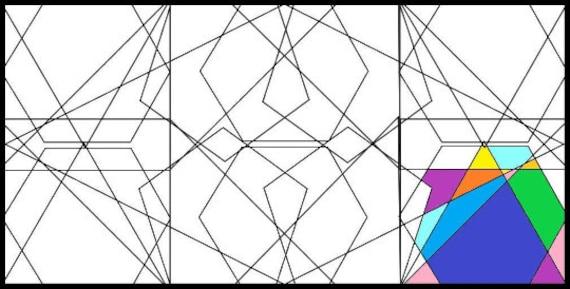Coloring Page Zen Abstract Design Calm Printable Calm Etsy