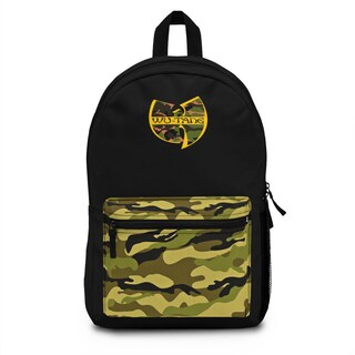 Wu-Tang Clan - Camouflage Backpack (Made in USA)