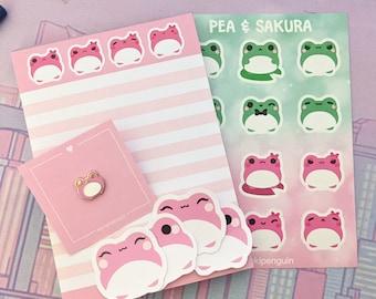 Pea & Sakura Frog Gift Set