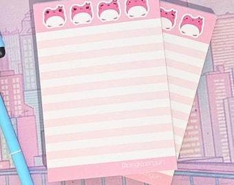 """Pink Frog """"Sakura"""" A6 Memopad"""