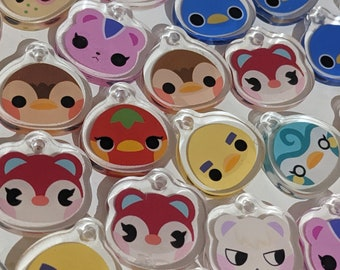 Animal Crossing Inspired Assorted Charm Packs