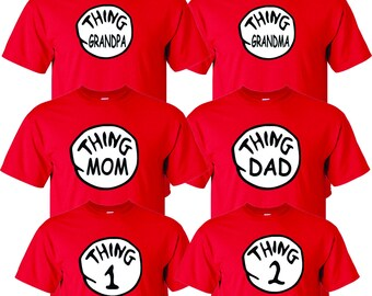27ce2913 thing mom thing dad thing grandpa thing grandma thing 1 thing 2 family fun  cute shirts