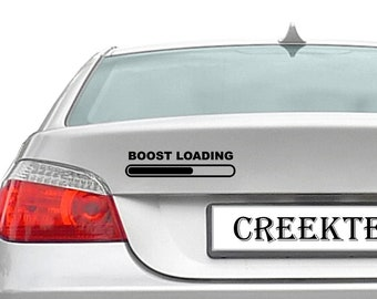 Boost Loading vinyl decal - boost loading vinyl decal in various colors