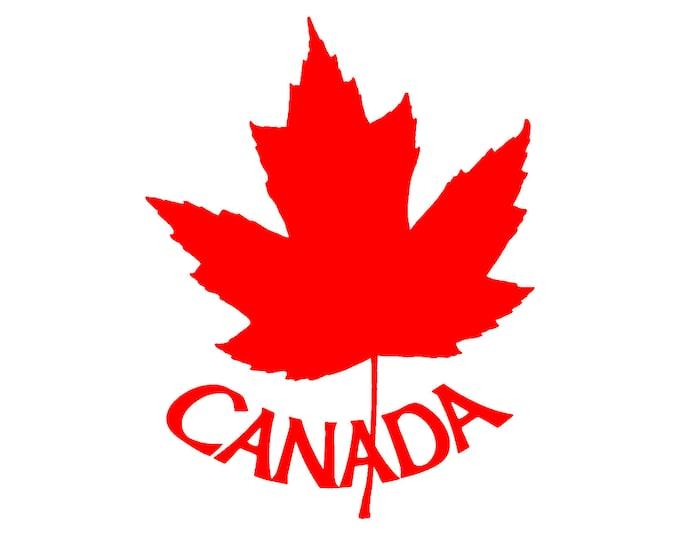 Canada vinyl decal