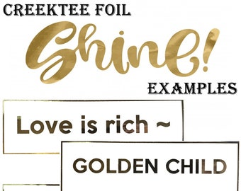 FOIL SHINE Custom text  10 x 3 Bumper Sticker or Magnetic Bumper Sticker Available