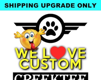 SHIPPING UPGRADE - This listing is for our shipping upgrade required to complete your project in addition to the item price.