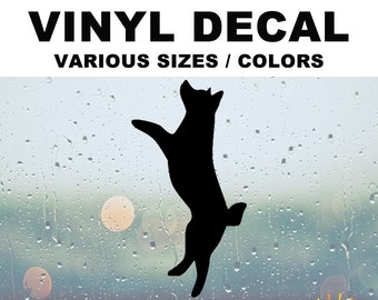 Husky Silhouette Vinyl Decal Various Sizes and Colors Die Cut Vinyl Decal also in Cool Chrome Colors!