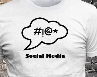 Profanity Callout Social Media T-shirt Gift Fun - Funny t-shirt, fun tshirt, Customize your t-shirt... Ask us!