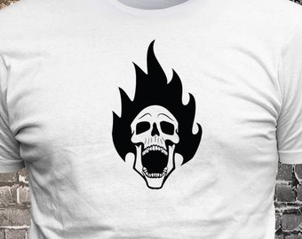 Skull Vinyl T-shirt - Funny t-shirt, fun tshirt, Customize your t-shirt... Ask us!