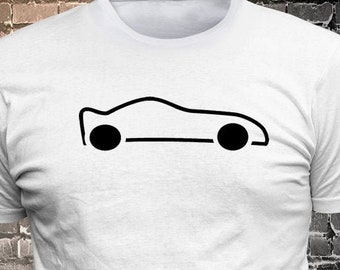 Car Vinyl Print T-Shirt - Funny t-shirt, fun tshirt, Customize your t-shirt... Ask us!