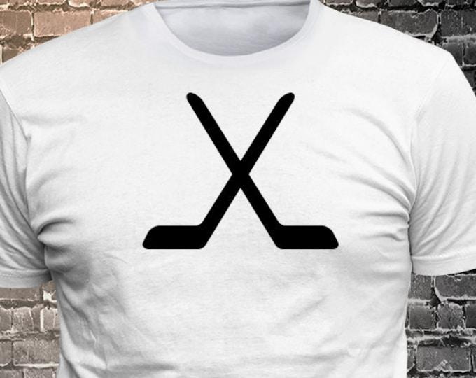 Vinyl Print Hockey T-shirt   Gift Funny - 1906-T - Funny t-shirt, fun tshirt, Customize your t-shirt... Ask us!
