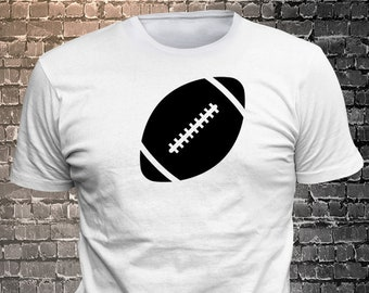 Vinyl Print Football Icon T-shirt   Gift Funny - 1906-S - Funny t-shirt, fun tshirt, Customize your t-shirt... Ask us!