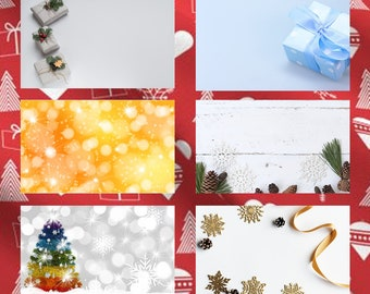 20 assorted premium classic 2 1/2 inch wide x 1 1/2 inch high Christmas Gift Tag Stickers - Christmas gifts, Christmas Cards and envelopes