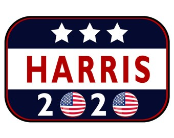 Harris 2020 Sticker or Magnet Option - 6 x 4 inches - Custom changes and orders welcomed!
