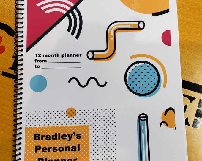 "DIGITAL DOWNLOAD ONLY 12 Month Value Planner, 8 1/2"" x 11"" 40 Pages Value Planner With Password Tracker"
