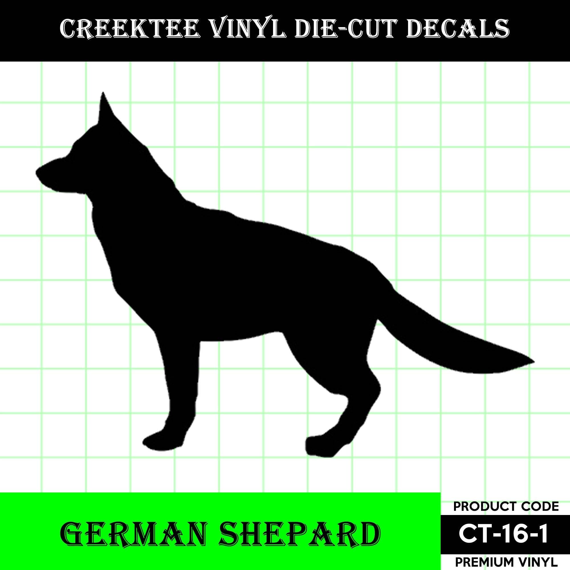 CAD$8.69 - German Shepard Standing Die Cut Dog vinyl decal - Dog Decal