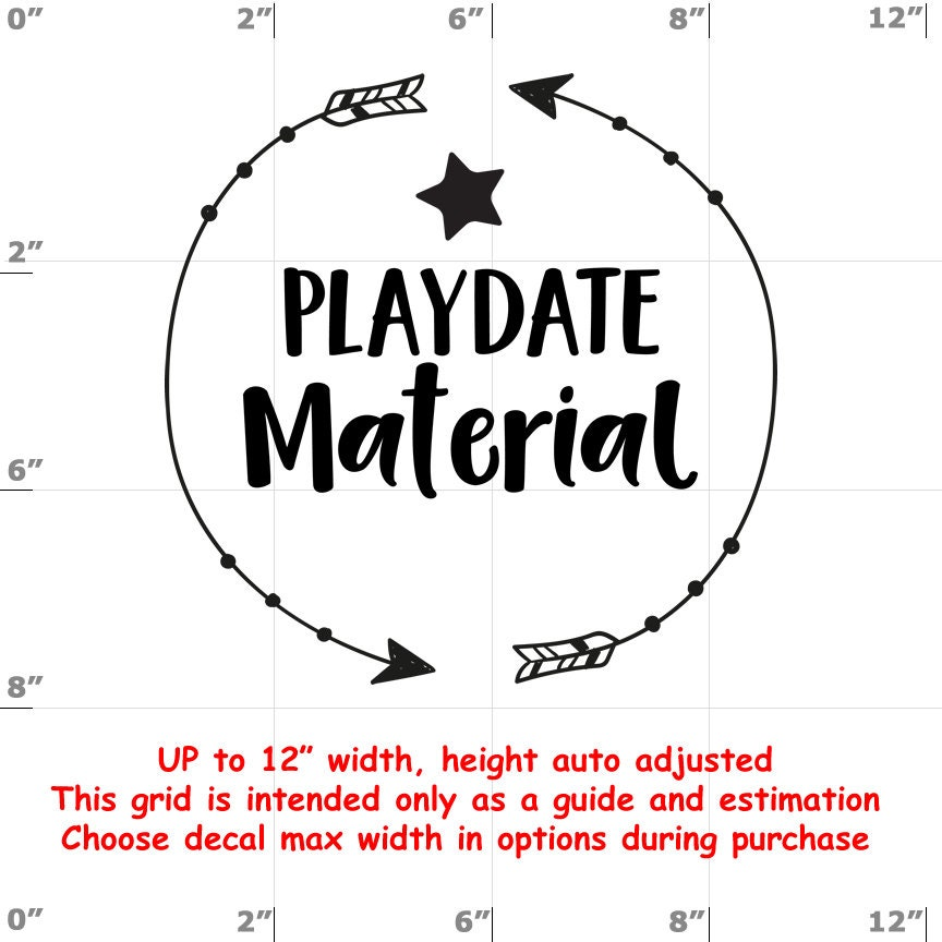CAD$9.74 - Playdate Material - Fun Decals various sizes and colors - colours