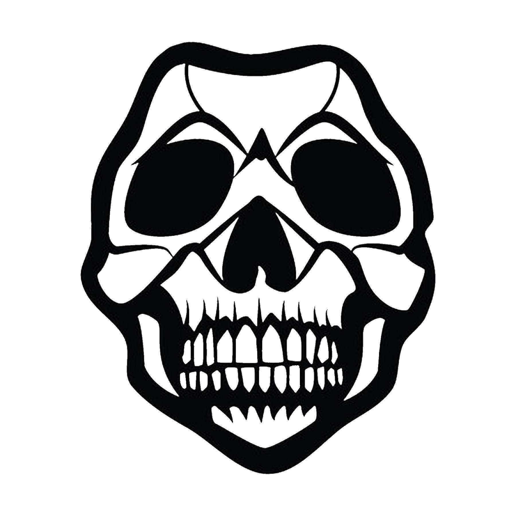 CAD$8.69 - Skull Vinyl Decal - various sizes and colors - colours